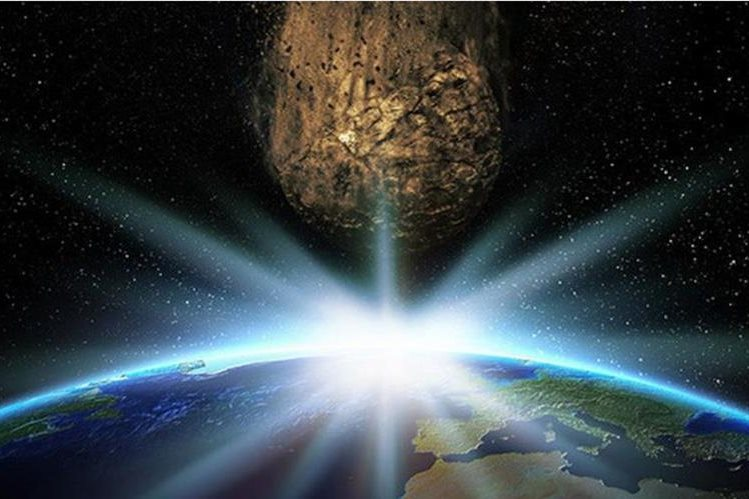 There are a total of 62 trajectories of the predicted 2018 LF16, when the rock could hit the Earth by 2117. (Photo by Prensa Libre: Shutterstock)