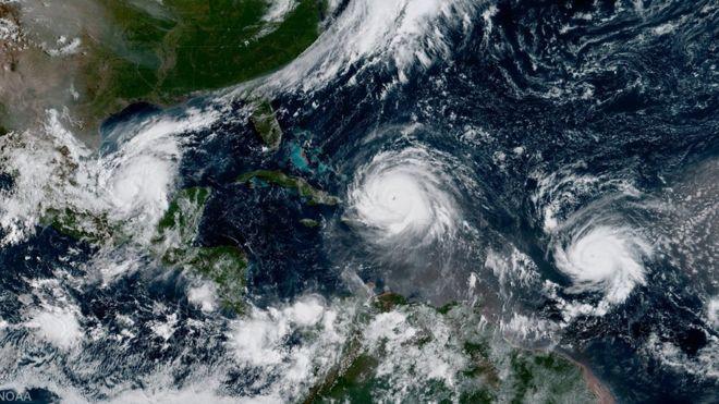 El mes de septiembre es la época del año en la que se producen más huracanes. NOAA
