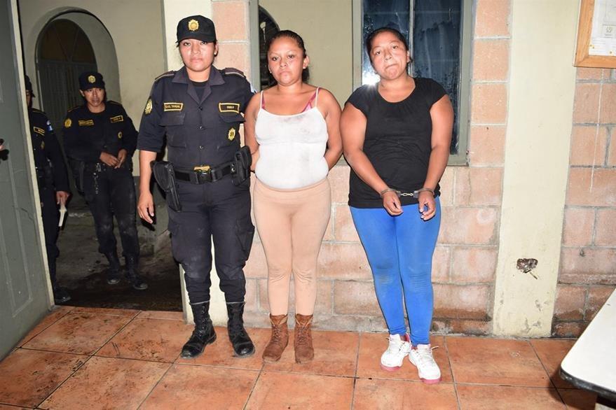 En Escuintla, las autoridades reportan un alto índice de participación de mujeres en hechos de violencia. (Foto Prensa Libre: Carlos paredes)