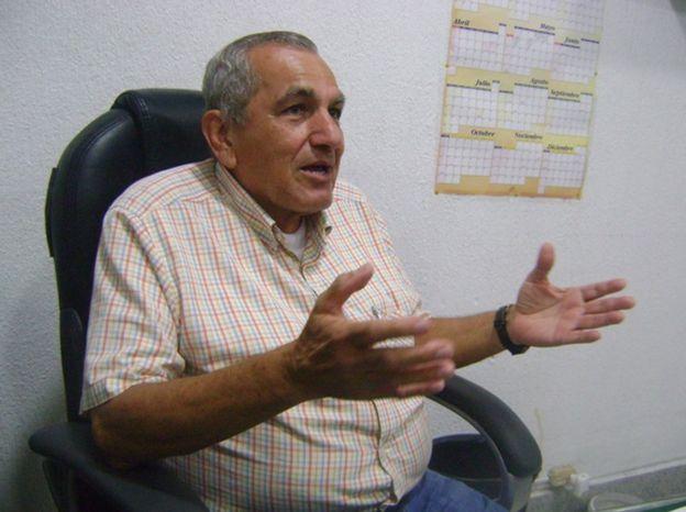 Alejandro Trillo, colombiano, dice que los cucuteños quieren ser recíprocos y ayudar a los venezolanos en su hora más dura. GUSTAVO OCANDO ALEX
