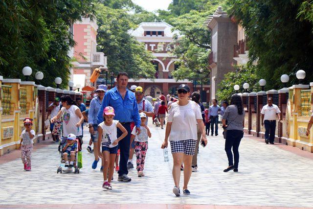 La administración de Xetulul tiene promociones para las familias que visiten el parque temático. (Foto Prensa Libre: Rolando Miranda)