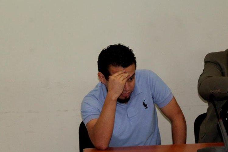 Carlos Francisco Vela fue hallado culpable de extorsión, en Quetzaltenango. (Foto Prensa Libre: María José Longo).