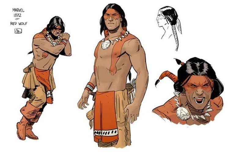 Lobo Rojo es el último personaje que se suma al giro que Marvel comenzó a dar el año pasado a sus héroes.
