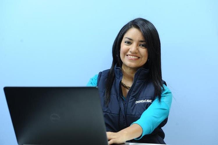 Jeniffer Gómez es la enviada especial de Prensa Libre para los Juegos Olímpicos de Río. (Foto Prensa Libre: Francisco Sánchez).