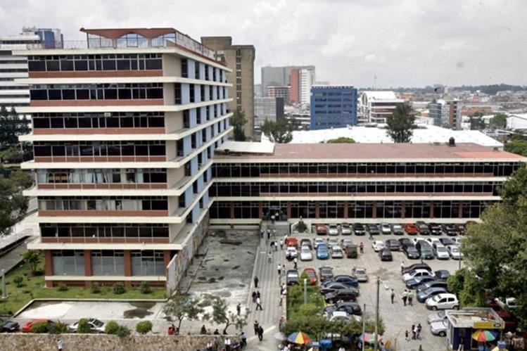 Sede del IGSS, en la zona 1 de la Ciudad Capital. (Foto Prensa Libre: Hemeroteca PL)