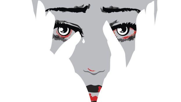 """Imagen De Una Silueta De Una Mujer Para Colorear: """"Soy Mujer... Y Fui Violada Por Otra Mujer"""""""