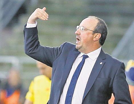 El técnico Rafael Benítez será contratado por el Newcastle. (Foto Prensa Libre: Hemeroteca PL)