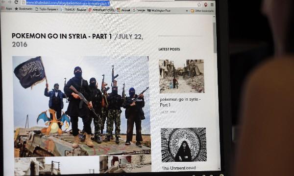 Fotos con escenas de la guerra en Siria puestas con aplicación de Pokémon Go.(AFP).