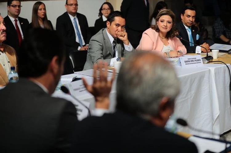 Sandra Jovel dijo que el Gobierno no tiene problemas con la Cicig, pero sí con la persona que lo dirige. (Foto Prensa Libre: Álvaro Interiano)