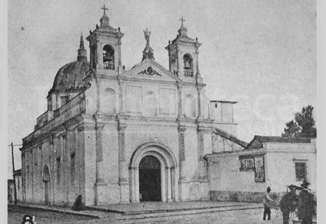 Apariencia del Templo de Beatas de Belén como posiblemente lo conoció la Madre Encarnación Rosal. (Foto: Hemeroteca PL)