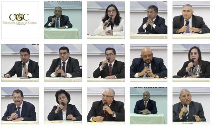Ocho candidatos a contralor son elegibles y cinco no pudieron desvanecer señalamientos ante la postuladora. (Combo Prensa Libre: Andrea Domínguez)