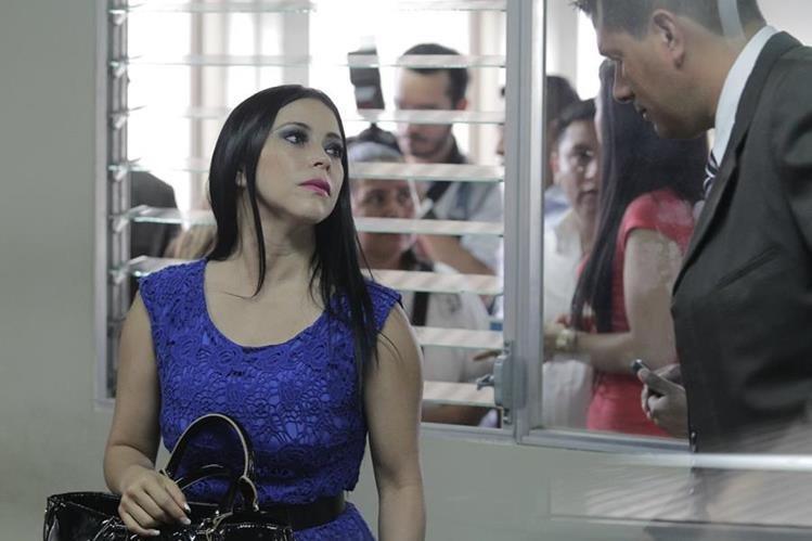 La diputada Maldonado enfrenta un proceso Penal por el delito de peculado. (Foto Prensa Libre: Hemeroteca PL)