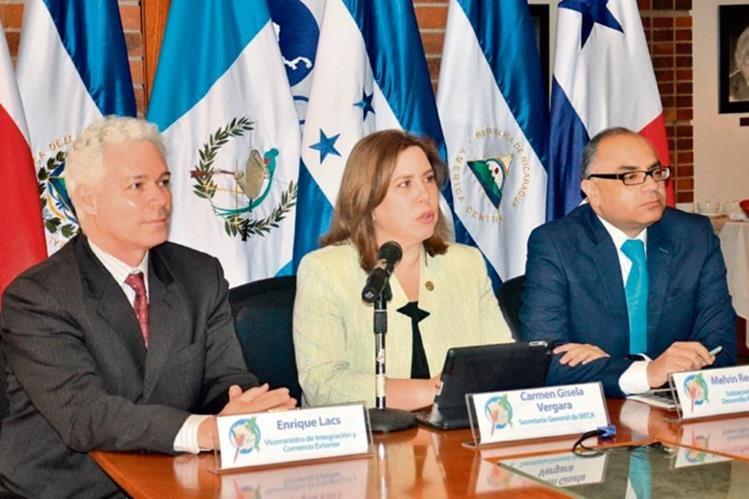 representantes de Economía, Sieca y Honduras informaron de los avances de la Unión.