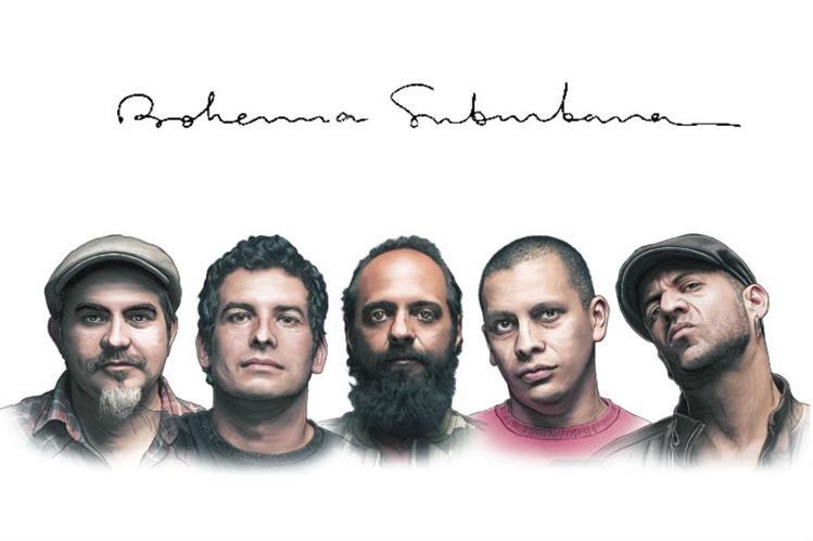 Bohemia Suburbana celebra 25 años de trayectoria. (Ilustración Prensa Libre: Billy Melgar)