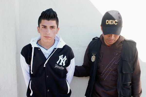 Yulian Antonio Herrera, de 21 años, fue capturado en la zona 12 de Villa Nueva
