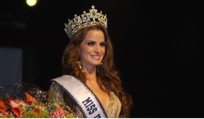 La guatemalteca Laura Beatriz Godoy obtuvo el primer título de Miss Simpatía para el país. (Foto Prensa Libre: missosology.info)