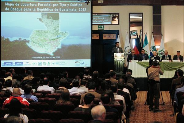 A finales de abril  se presentó el Mapa de Cobertura Forestal por Tipo y Subtipo de Bosques en el país.  (Foto, Hemeroteca PL)