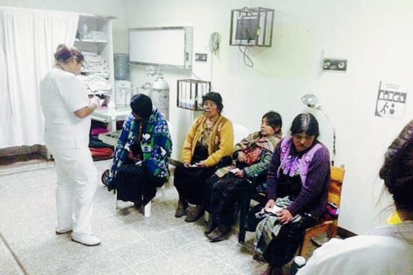 Heridos en el hospital de Totonicapán. (Foto tomada de Noticias Sololá NS)