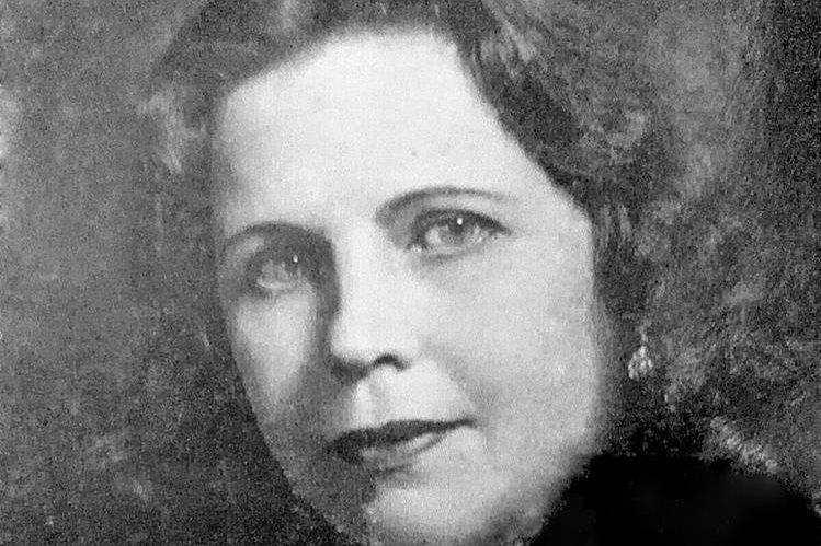 Magdalena Spínola durante la década de 1930.