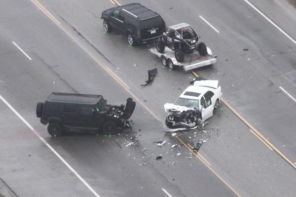 El percance ocurrió en la autopista Pacific Coast, en Los Ángeles. (Foto Prensa Libre: Hemeroteca PL)