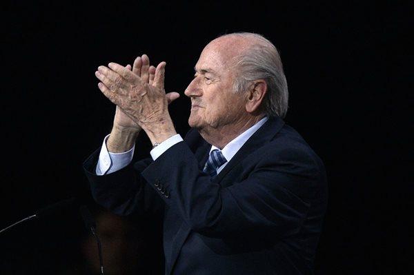 Blatter, de 79 años, se ha mostrado decidido a seguir al mando de la Fifa (Foto Prensa Libre: Hemeroteca PL)