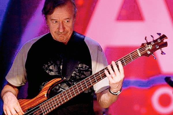 Rutger Gunnarsson destacó como bajista de ABBA.