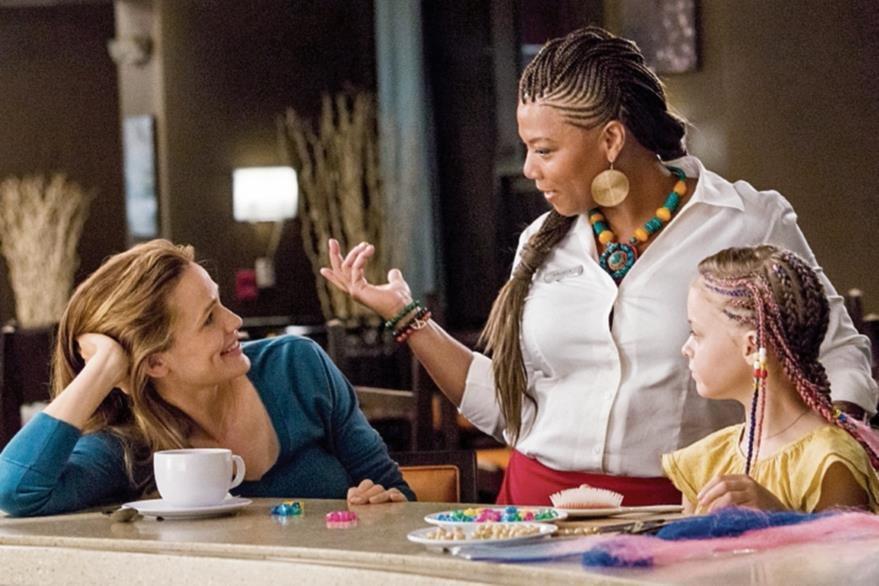 En el  filme participan Jennifer Garner, Queen Latifah y la joven actriz  Kylie Rogers. (Foto Prensa Libre: Hemeroteca PL)