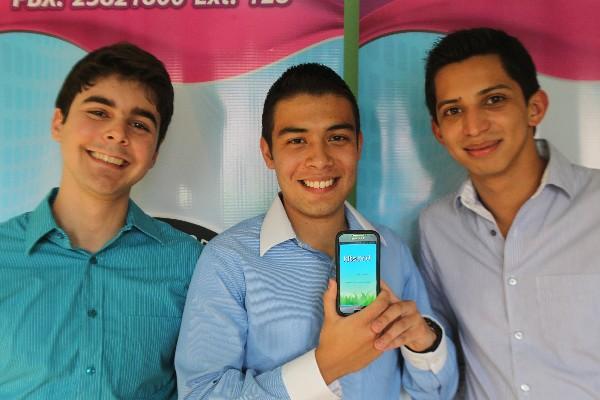 charlie galdámez, Luis Pedro Méndez y Kevin Sánchez son los creadores de Kitsord.