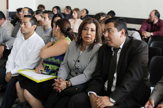 Anabella de León y 17 personas más están procesados en el caso Botín Registro de la Propiedad. (Foto Prensa Libre: Paulo Raquec)
