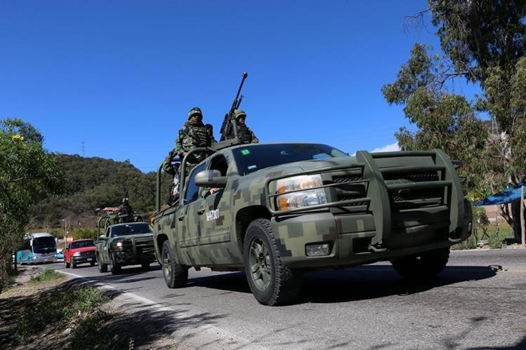 Por su condición fronteriza, Sonora tiene fuerte presencia de los carteles de las drogas. (Foto Prensa Libre: EFE).