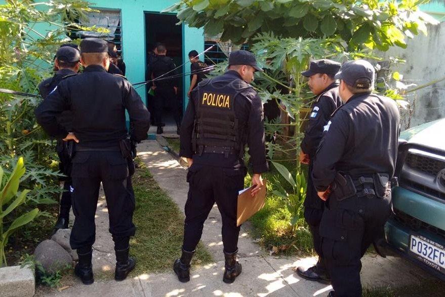 En la manzana G de la colonia Jardines, zona 2 de Mazatenango, Suchitepéquez, fue capturado Germán Amílcar Morataya Beltrán