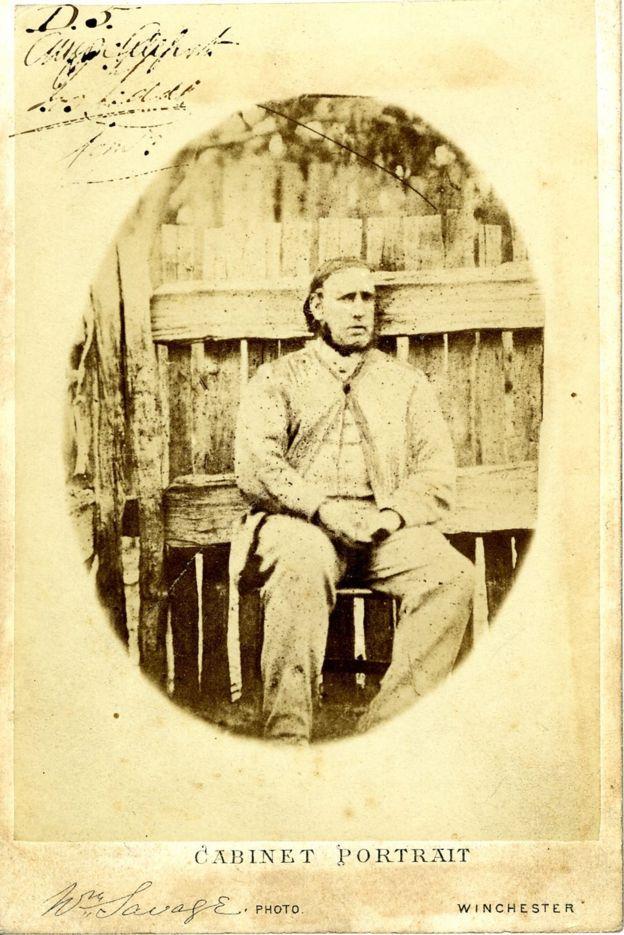 Nació como Arthur Orton, era conocido en Australia como Tom Castro y se hizo pasar por Sir Roger Tichborne. Imagen cortesía de Hampshire Archives and Local Services. HAMPSHIRE ARCHIVES AND LOCAL SERVICES