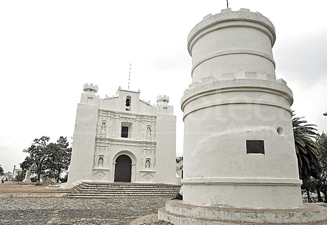 La iglesia del Cerrito del Carmen fue construida en estilo barroco con forma de fortaleza y data del siglo XVIII. (Foto: Hemeroteca PL)