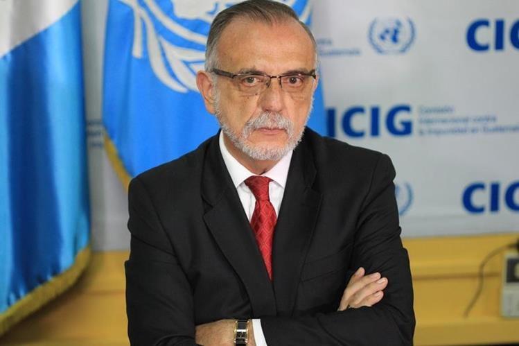 Iván Velásquez, comisionado contra la impunidad, rechaza campañas de desprestigio.( Foto Prensa Libre:Hemeroteca PL)