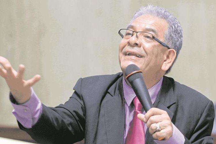 El juez Miguel Ángel Gálvez regresó ayer a sus actividades en el Juzgado de Mayor Riesgo B. (Foto Prensa Libre; Hemeroteca PL)