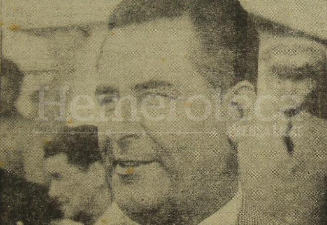 John Peurifoy, embajador de Estados Unidos en Guatemala durante la época de la Contrarrevolución de 1954. (Foto: Hemeroteca PL)
