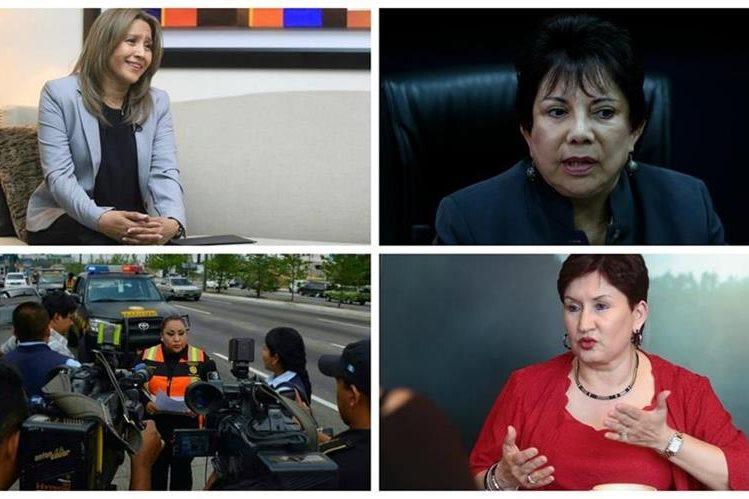 Mujeres y madres destacadas, envían un saludo a las madres en su día. (Foto Prensa Libre: Hemeroteca PL)