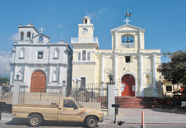 Templos de San Felipe Retalhuleu. (Foto: Hemeroteca PL)