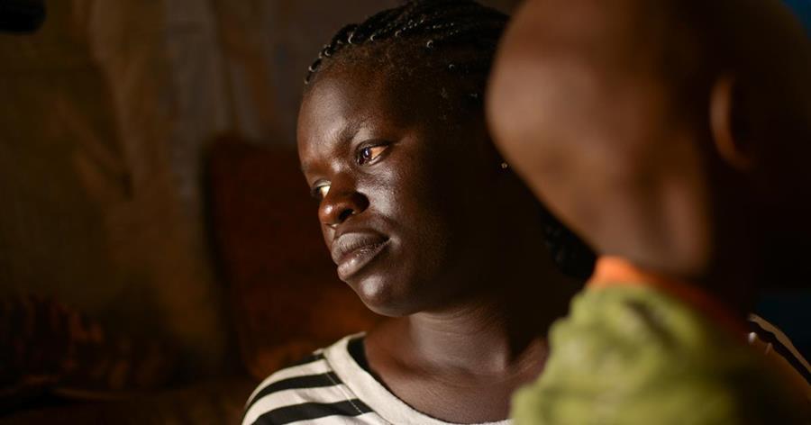 Culturalmente se cree que los niños con discapacidad son un castigo por los pecados de la madre, incluyendo la infidelidad a su marido. (Foto tomada de Report Focus News)