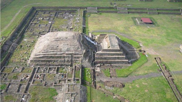 No saben por qué, la ciudad de Teotihuacán fue abandonada alrededor del año 550 d.C SERGIO GÓMEZ