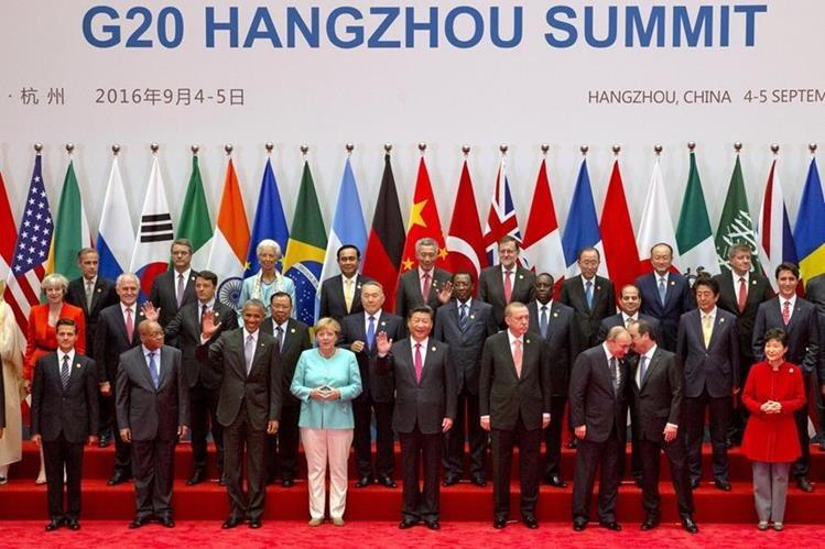 Líderes mundiales se congregaron en China.