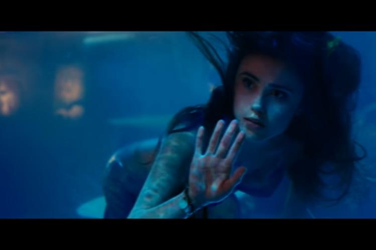 Poppy Drayton interpretará a la sirenita en esta nueva película. (Foto Prensa Libre: YouTube).