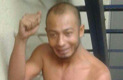 Julio Roberto García, de 31 años, fue recapturado por la PNC este martes en Santa Rosa. (Foto Prensa Libre: PNC)