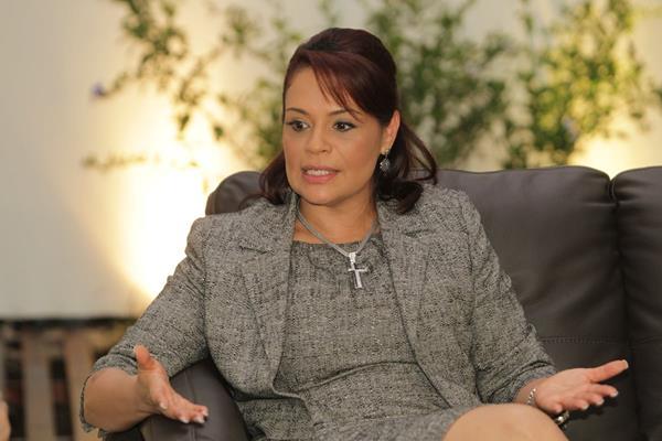 Roxana Baldetti, ex vicepresidenta de la República.