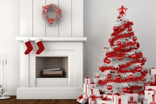 El rojo, color por excelencia de la Navidad