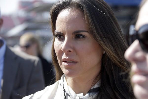 La actriz mexicano-estadounidense Kate Del Castillo.