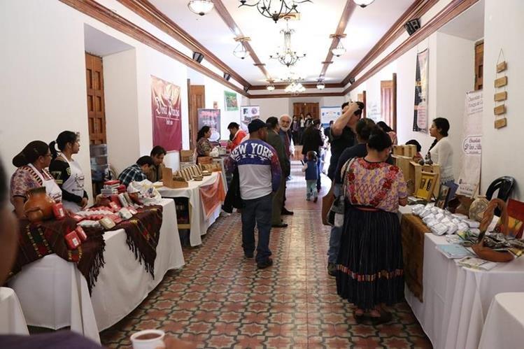 Área donde se lleva a cabo el festival en Quetzaltenango. (Foto Prensa Libre: María José Longo).