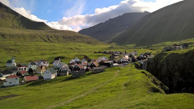 El paisaje es hermoso, no hay contaminación y la familia está cerca.