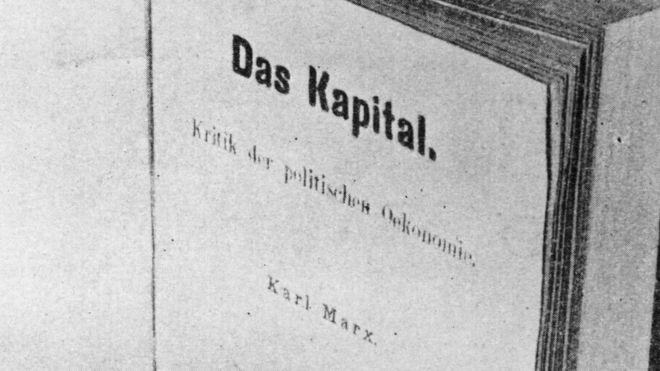 """""""El Capital"""" fue editado por primera vez hace 150 años y en alemán, el idioma materno de Marx. HULTON ARCHIVE/ GETTY"""