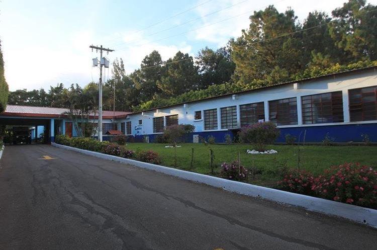 Centro de salud de Fraijanes donde comenzó la Red  Metropolitana de Servicios de Salud. (Foto Prensa Libre: Esbin García)